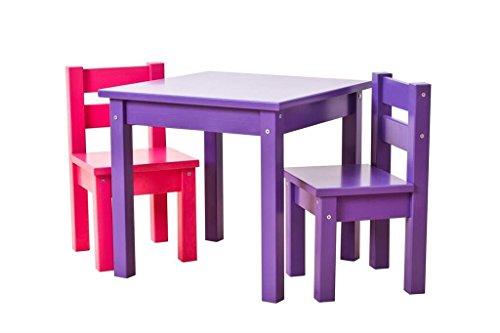 Set Da Scrivania Viola : Hoppe bambini disegno bambini mads: tavolo viola sedie viola rosa