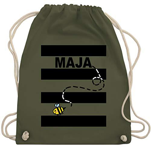 Karneval & Fasching - Bienen Kostüm Maja - Unisize - Olivgrün - WM110 - Turnbeutel & Gym Bag