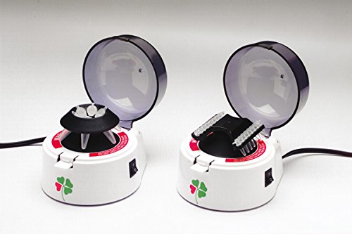 DUTSCHER 037997 2 rotore Microcentrifuga per microprovette 1,5 mL di 6 o 8 microprovette barrette da 2
