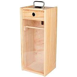 Petromax Holzbox mit Plexiglasscheibe für 500 und 350 HK, 1429720
