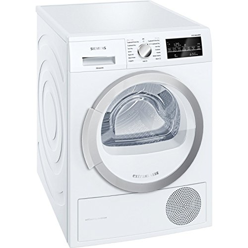 Siemens extraKlasse WT46W490GB 9kg Freestanding White Tumble Dryer