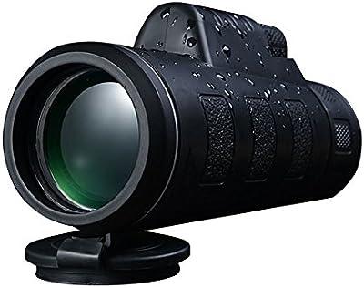 Wingogo visión nocturna y visión nocturna 40x60 HD telescopio óptico monocular de caza de senderismo