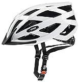 Uvex I-Vo Fahrradhelm, Weiß, 56-60 cm