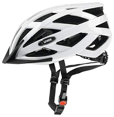 Uvex Erwachsene I-Vo Fahrradhelm, Weiß, 52-57 cm