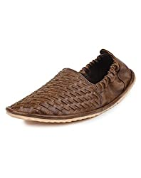 Do Bhai ST-605 Fashionable & Stylish Loafers for Men (UK6, Brown)