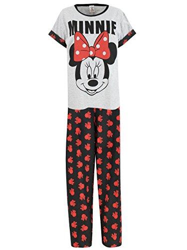 Disney Minnie Mouse - Ensemble De Pyjamas - Minnie Mouse - Femme Taille Medium Disney