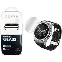2 x HD Claro Dureza Anti-rasguños vidrio templado Protector de pantalla para LG Watch Urbane 2nd Edition LTE