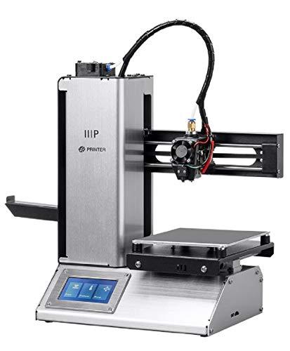 Monoprice Select Mini Pro 3D-Drucker - Aluminium mit automatisch beheiztem Heizbett, abnehmbarer Bauplatte, Touchscreen-Display, MicroSD-Karte und WLAN, 120 x 120 x 120 mm