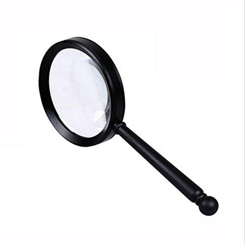 NAN 10 mal Lupe Handheld Kinder Alter Mann lesen Uhr Reparatur Lupe optisches Glas HD Lupe (größe : 175 * 55mm)