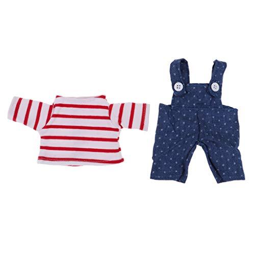 P Prettyia Handgemachte Puppe Kleidung für 26cm Mellchan -
