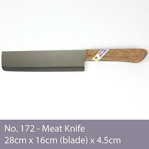 [ #172 ] KIWI Thailand Kochmesser mit Holzgriff 28cm / Messer