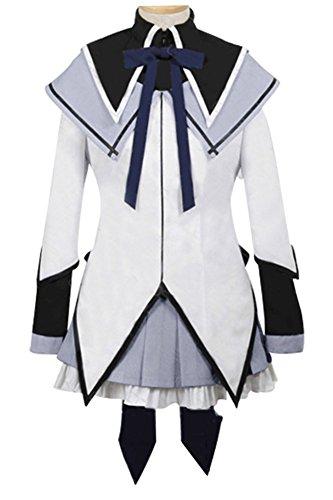 Fuman Puella Magi Madoka Magica Homura Akemi Dress Kleid Cosplay Kostüm (Kostüm Cosplay Madoka)