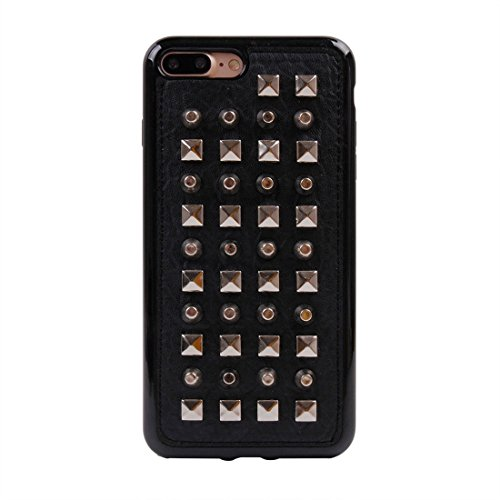 GHC Cases & Covers, Für iPhone 7 Plus Niet-Art-Muster TPU + Metall weicher schützender rückseitiger Abdeckungs-Fall ( SKU : Ip7p1211x ) Ip7p1211n