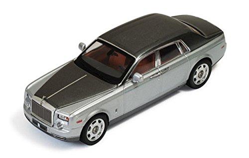 ixo-model-moc163-rolls-royce-phantom-2003-silver-and-grey-metallic-143-die-cast