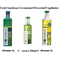 Pack Canabium Flower. Crecimiento más floración más cogollador