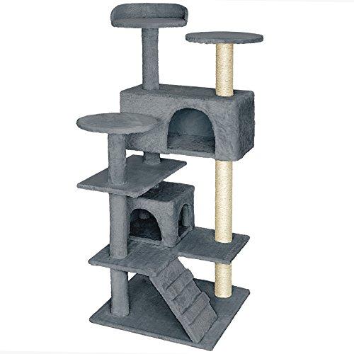 TecTake Rascador Árbol para gatos Sisal - disponible en...