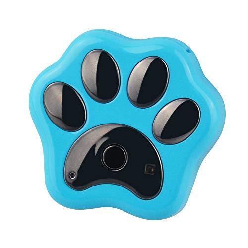 LIZONGFQ GPS SMS GPRS Tracker RF-V30 Tracker Dog WiFi gsm GPRS Teléfono Seguimiento en Tiempo Real Localizador SSMS a Prueba de Agua LED Anti Lost Kids,A