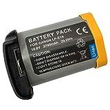 XITAI 10.8V 2700mAh 29.2Wh LP-E19 Batteria di Ricambio per Canon EOS 1DX, 1DX MARK 2, EOS 1D Mark III, 1Ds Mark III, EOS 1D Mark IV, 1D Mark4, EOS 1Ds Mark IV, EOS-1D C, 1D, 1Ds