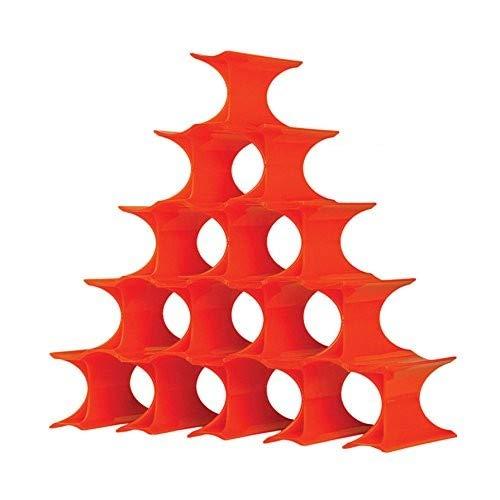 Kartell Infinity, Plastik, orange, 14.5 x 9.5 x 5.7 cm