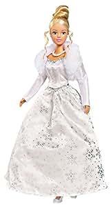 Simba 105735325 - Steffi Love Puppe im zauberhaften Winterkleid
