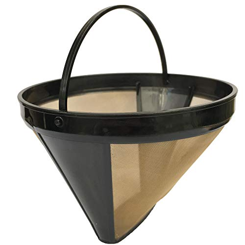Inherited Filtros de café, permanentes Reutilizable Filtro de Café de Goteo, Filtro...