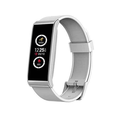 MyKronoz Smartwatch Zefit 4HR mit Sensor Herzfrequenz weiß