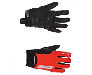 Altura Progel Waterproof Cycling Gloves 2012 Small Red