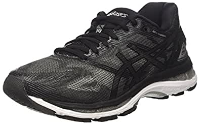 Asics Gel-Nimbus 19, Men's Runnning/Training Shoes, Black (Black/Onyx/Silver), 6 UK