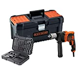 BLACK+DECKER BEH850KA32-QS Taladro percutor con Cable 850W