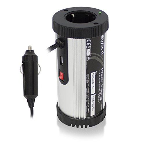150w Power Inverter (Ewent Power Inverter, 150W, 12V, 230V, 2.1A USB Port)