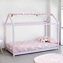 DISTRIMOBEL Cama Montessori Color Rosa