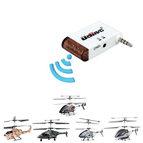 Original UDI-Adapter für Ihr Android-Smartphone oder iPhone, iPad oder iPod Touch, i-Helikopter Adapter für RC ferngesteuerte Hubschrauber-Modelle Original Ipod-akku