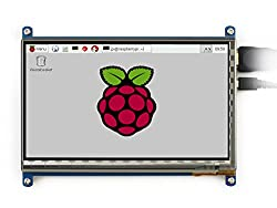 Waveshare 7 inch 800*480 Capacitive Touch Screen LCD Display HDMI Interface Custom Raspbian Angstrom Android4.2.2 Supports Various Systems for All Version of Raspberry pi Beaglebone Black Banana Pi Banana Pro Video Photo Module