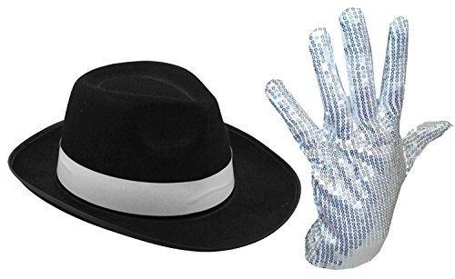 mens-ladies-michael-jackson-silver-sequin-glove-al-capone-hat-70-80s-fancy-dress-silver-gloves-black