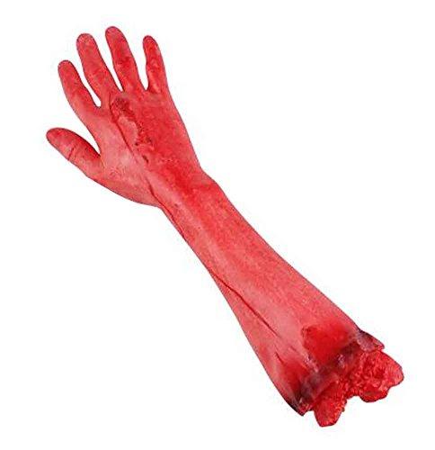 Halloween Scary Dekorationen Gefälschte blutige Körperteile Props [A]