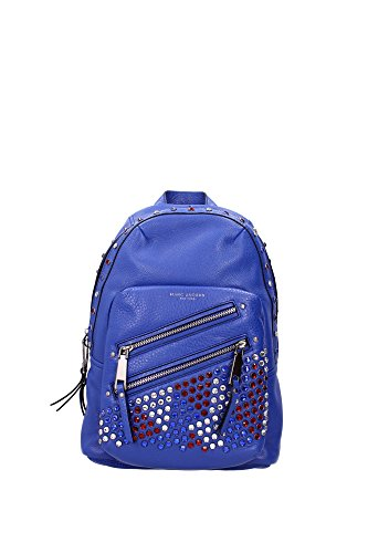 Bags-Backpack-Marc-Jacobs-Women-Leather-Blue-M0008507434-Blue-14x24x34cm