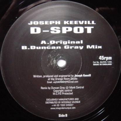 Spot-test (Joseph Keevill - D-Spot - Blue Black - BLUTES-1205)