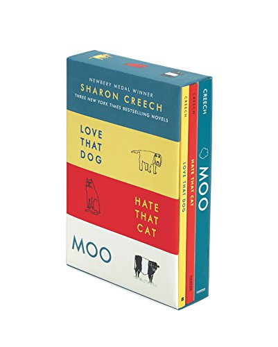 Sharon Creech 3-Book Box Set: Love That Dog, Hate That Cat, Moo por Sharon Creech
