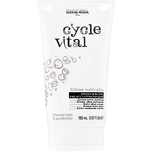 Cycle Vital - Crème Nutri-Plus - Cheveux Secs et Sensibilisés - 150 ml