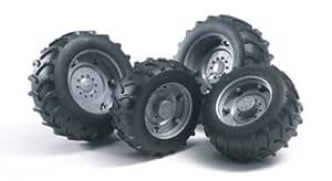 Bruder 02001 - Zwillingsbereifung fr Traktor Pro