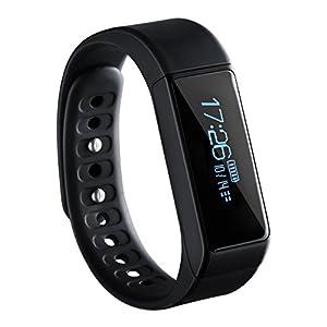 Pulsera Actividad de VicTsing, Monitor de Actividad y Bluetooth, Impermeable, Monitor de Dormir, Podómetro, Monitor de Calorías, Pulsera inteligente, Para Android y IOS