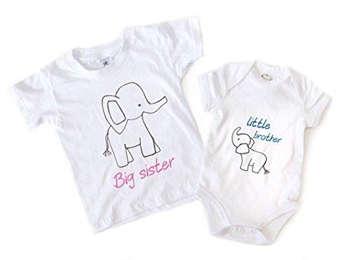 WithCongratulations Baby Jungen (0-24 Monate) Body Weiß weiß 3-4ys - 3-6mts