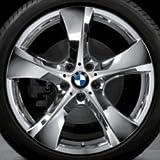 Original BMW Alufelge X4 F26 Sternspeiche 311 verchromt in 20 Zoll für hinten