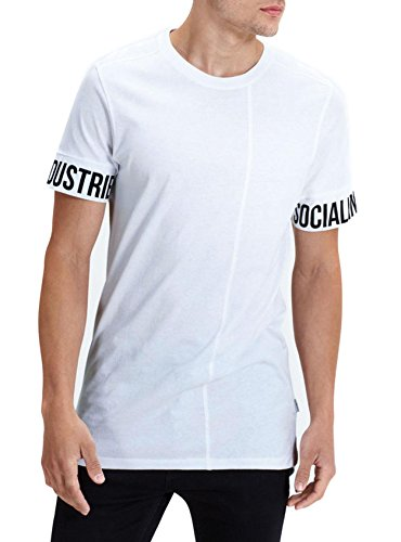 Jack & Jones Herren T-Shirt Weiß