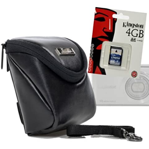 Exclusiv Intercept L pelle con scheda SD da 4GB - Tessuto Nappa Set