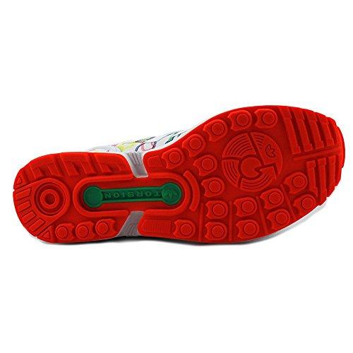 Adidas Zx Flux Injection-Pack (Lauf WeiÃ? / Laufen WeiÃ?) Schuhe Aq4904 (8.5) Multi