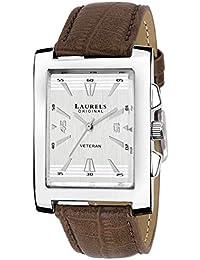 Laurels Imperial 2 Analog Silver Dial Men's Watch - Lo-Imp-201