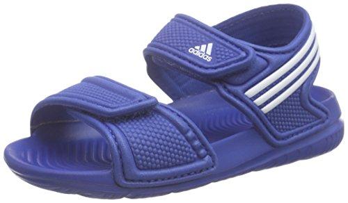 adidas Performance Akwah 9 i, Scarpe Walking Baby Unisex Bimbo, Blu (Eqt Blue S16/Ftwr White/Eqt Blue S16), 24 EU