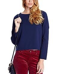 Cortefiel Camiseta Manga Larga  Azul L
