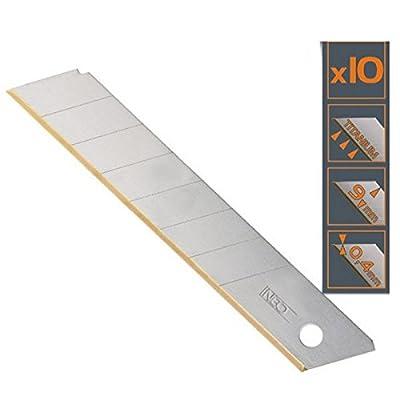 10 Stk. Titan Cuttermesser-Klingen 18mm von Cuttermesser bei TapetenShop